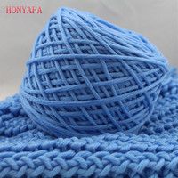 400g Lot 100 Milk Cotton Baby Yarn Soft Smooth Natural Silk Thick Yarn For Knitted Scarf