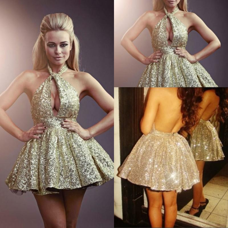 Gold homecoming dresses online shopping-the world largest gold ...