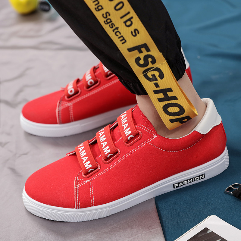 цены 2018 New Spring Summer Canvas Shoes Men Casual Shoes Comfortable Lace Up Fashion Mixed Colors Flat Mans Footwear 5