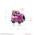 Natal Rosa Esmalte Pingente Carro Serve Para Pulseiras Europeus Pandora 925 Jóias de Prata Esterlina Encantos Para Fazer Jóias GTP116