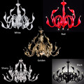 Art Deco European Candle Crystal LED Swan Chandeliers Ceiling Bedroom Living Room Modern Decoration G4 Lighting Free Shipping