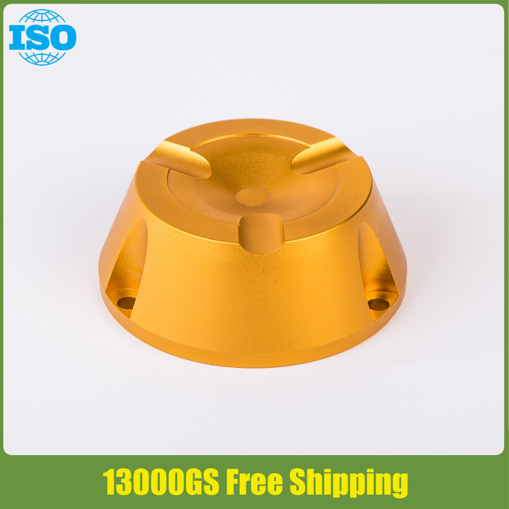 ФОТО 2017 new universal eas security tag detacher in gold color free shipping