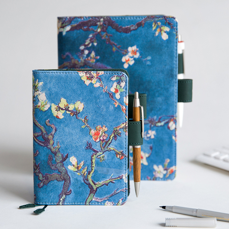 Art Flower Design A5 Journal Cover Hobonichi Fashion Fitted Diary Cover 1 Piece cover cover pl44027 06