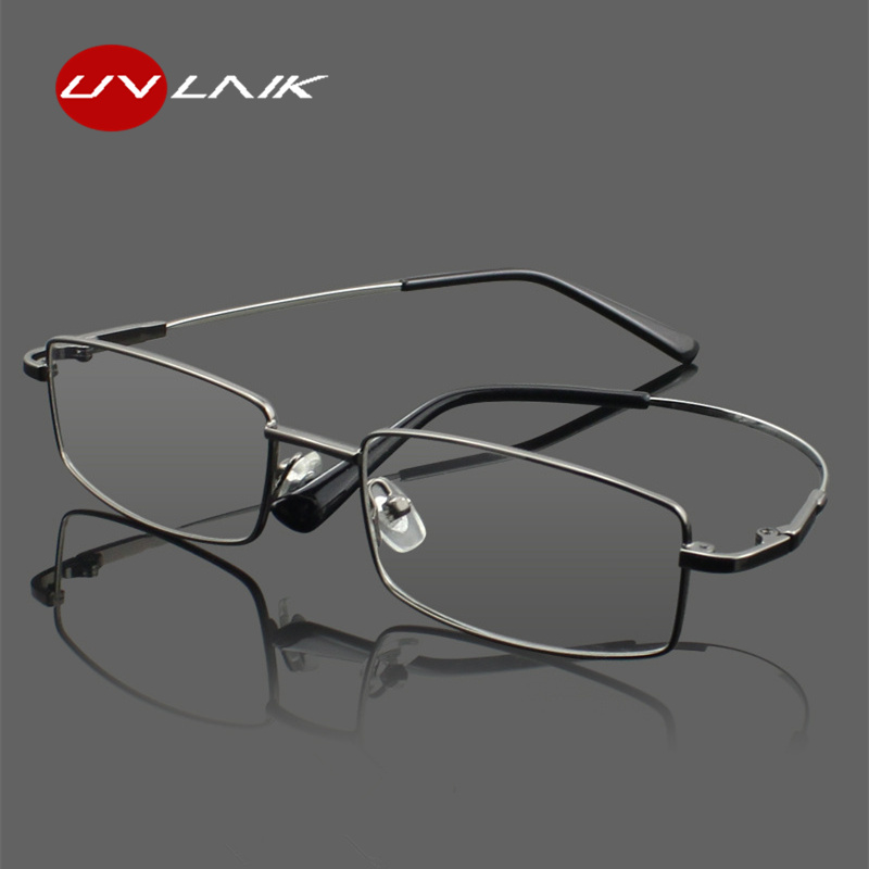 Fashion Memory Titanium Glasses Men Women Spectacle Eyeglasses Frame For Business Glasses Myopia Prescription Optical Glasses