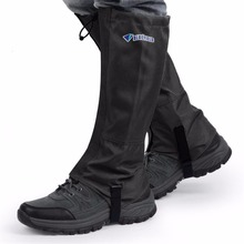 Men Women Shoes Covers Waterproof Gaiters Skiing Hiking Climbing Leg Guard Windproof Breathable Protective Leg Guard XL Hot Sale