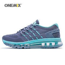 Onemix Women Running Shoes 2017 Light Weight Woman Sport Sneakers Mesh Breathable Workout AthleticTrainer Pink Grey Blue