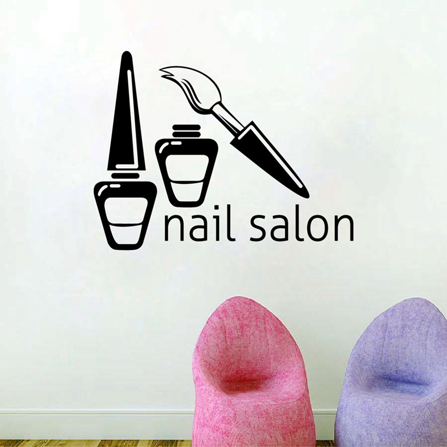 Salon Wall Decor popular wall decor for nail salon-buy cheap wall decor for nail