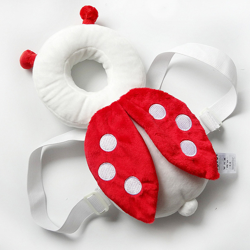 Wholesale 12pcs/lot (4 color) Baby Head protection plush toys cushion baby Animals bee Ladybug soft toys-in Movies & TV from Toys & Hobbies    1