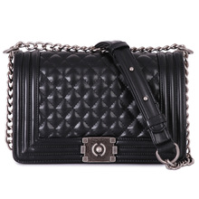 High Quality Women s Messager Bag Brand Le Boy Shoulder Bags Casual Diamond Lattice Bag Women