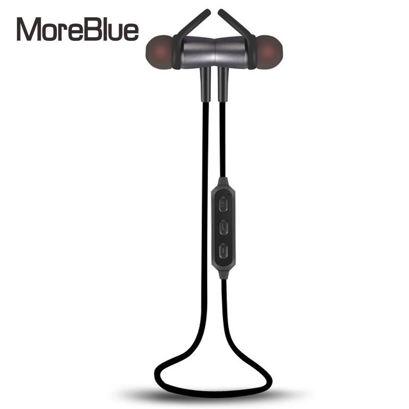 buy moreblue bt08 wireless bluetooth headphones stereo bass earphones magnet. Black Bedroom Furniture Sets. Home Design Ideas