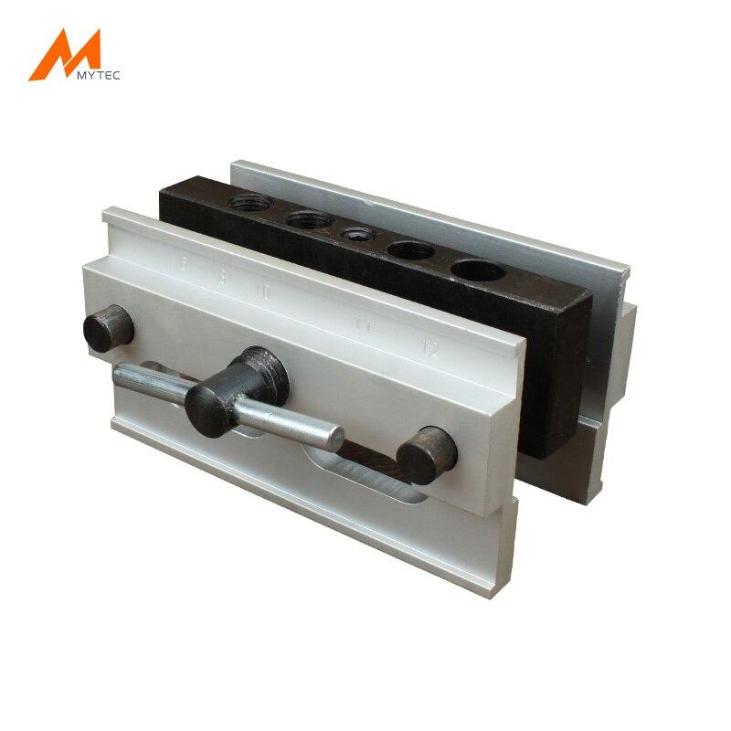 Premium Auto-Centraggio Doweling Jig 6/8/10/11/12mm Foro di Perforazione