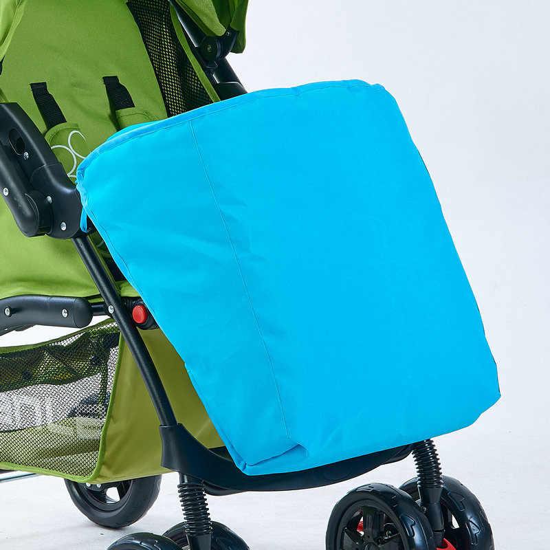 อุปกรณ์เสริมรถเข็นเด็กให้อบอุ่นเท้าปกทารกสำลีรถเครื่องดูดควันWindproofฝนปกรถเข็นฤดูหนาวP001-50