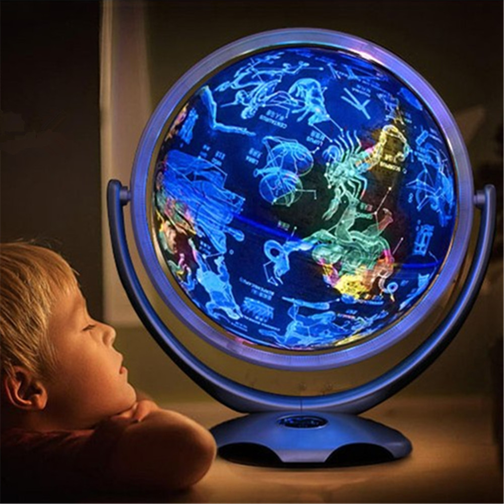 LED rêve Constellation diagramme Globe 25 cm décoration de la maison cadeau pour les enfants