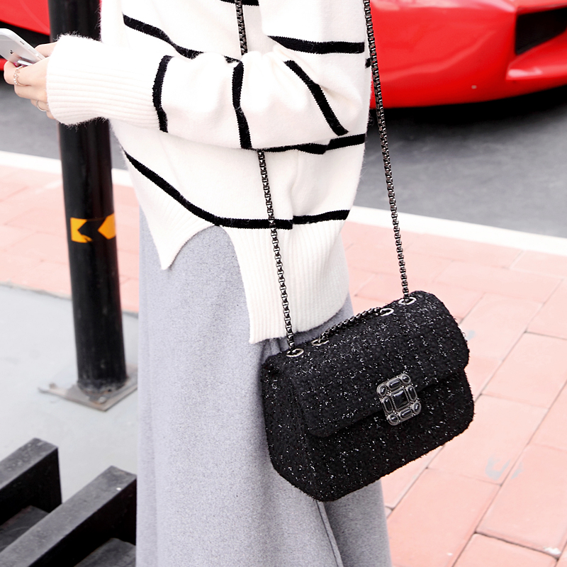 ФОТО Plaid chain Women Shoulder bags Mini Vintage Laidy's bags One Shoulder Women's Handbags Fashion Messenger Bag