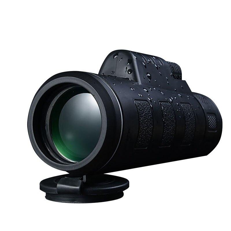 Wasserdicht Tag & Nachtsicht 40x60 HD Optische Monocular Teleskop für Camping Jagd Wandern