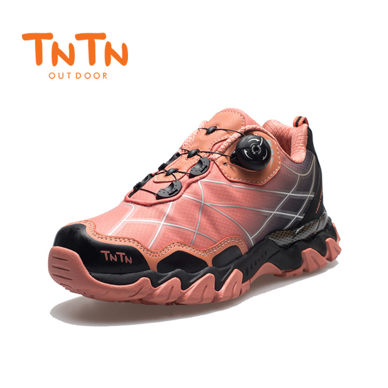 Mens Fast Button Windwire Breathable Shoes Hip Hop Sport 100% High Quality Comfortable Non Slip Trekking