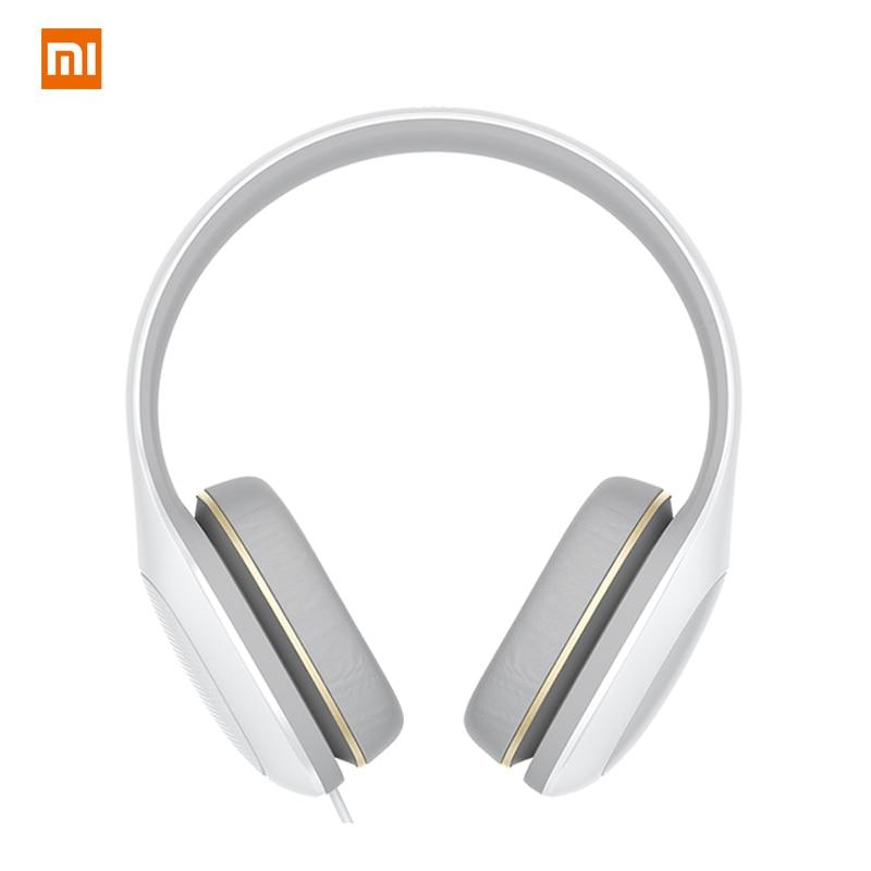 Mi Original Xiaomi Casque Audio Wired Big Headset Earphone For Phone Computer PC Headphone With Mic Microphone Head Set Kulakl K original xiaomi led phone light for photograph external selfie