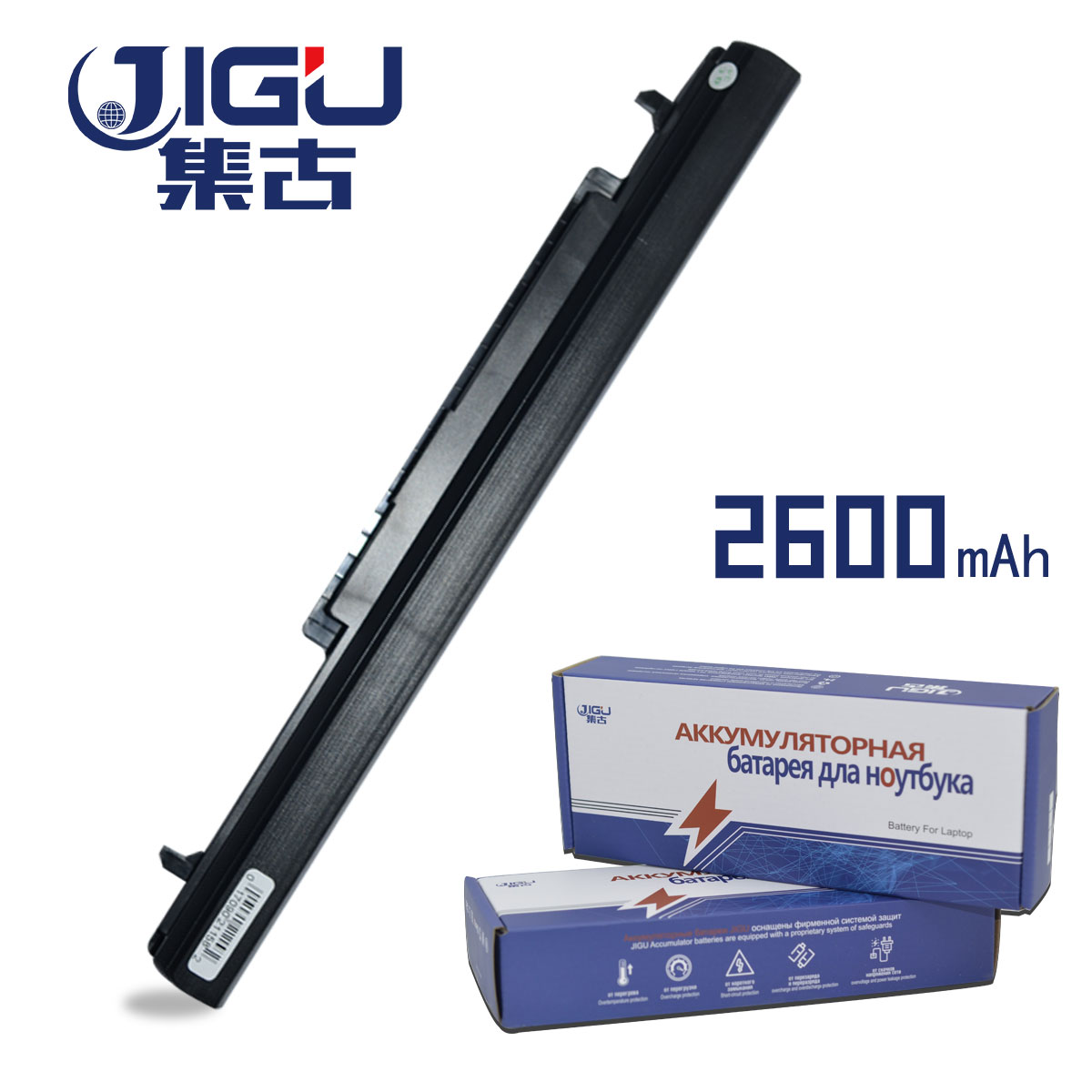 JIGU New Replacement 4Cell Laptop Battery For Asus A56 A46 K56 K46 S56 S46 Series Replace A42-K56 A32-K56 A41-K56 A31-K56 Series