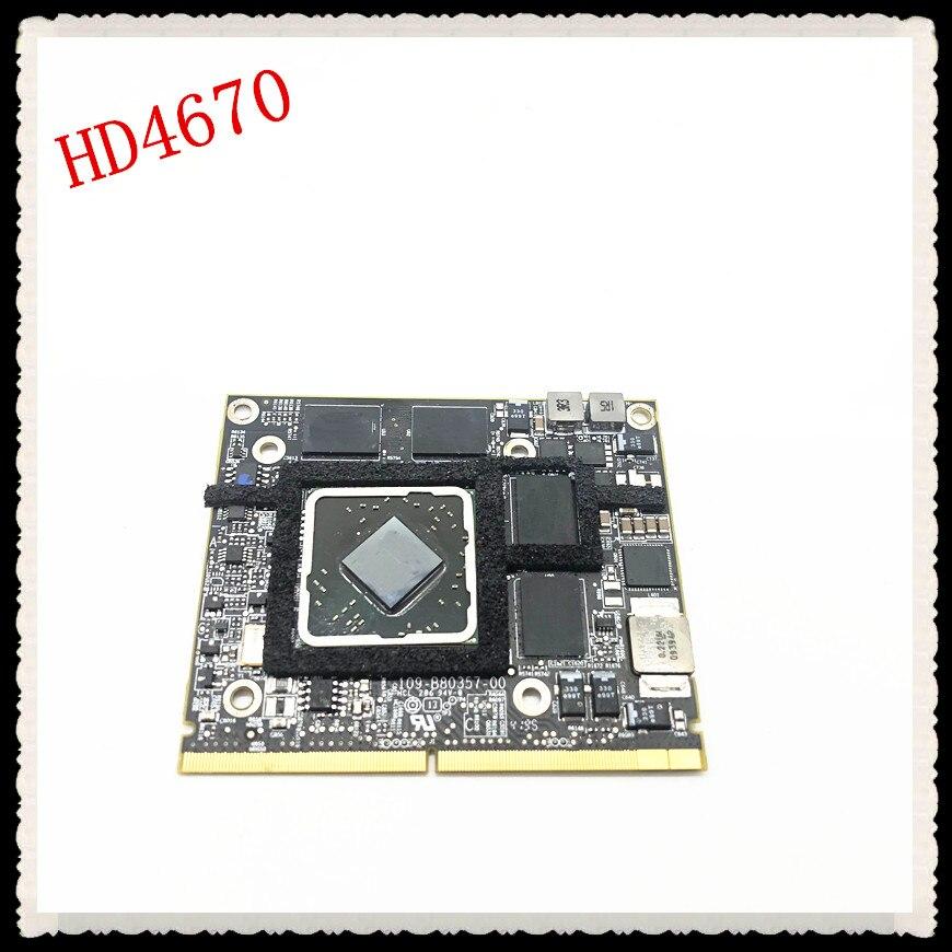 2010 2009 A1312 A1311 109-B80357-00 for Radeon HD 4670 HD4670 HD4670M 256MB Graphics Video Card Drive Case dhl ems free shipping new ati radeon 9550 256mb ddr2 agp 4x 8x video card from factory 50pcs lot