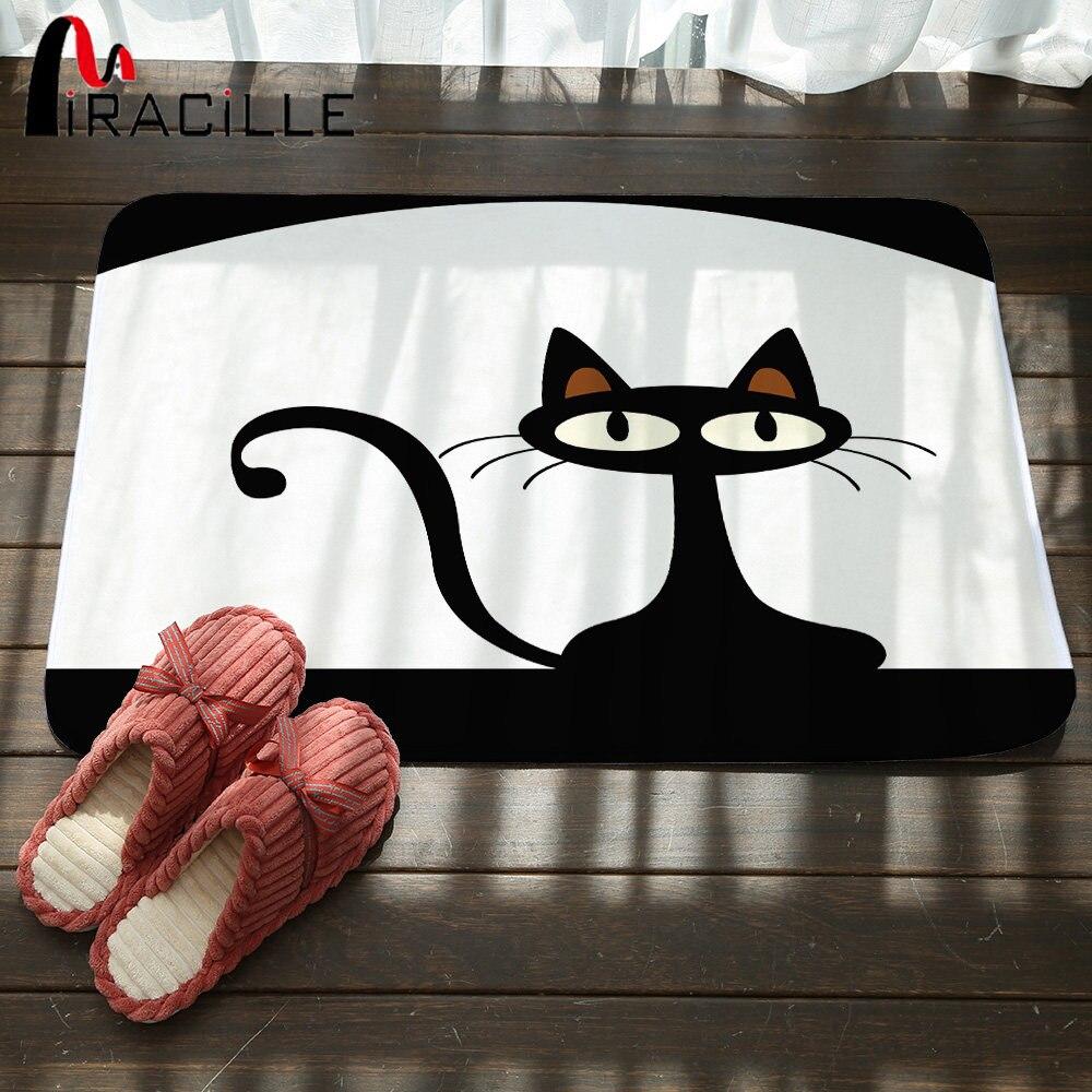 Chat Pisse Tapis Salle De Bain ~ nouvelle maison style kawaii tapis mignon chat animal print salle de
