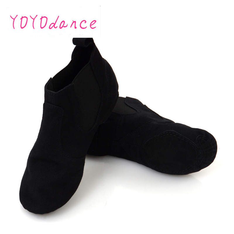 New Jazz Dance Shoes for Adults Comtable Elastic Dancing Women Canvas Women's Sneakers