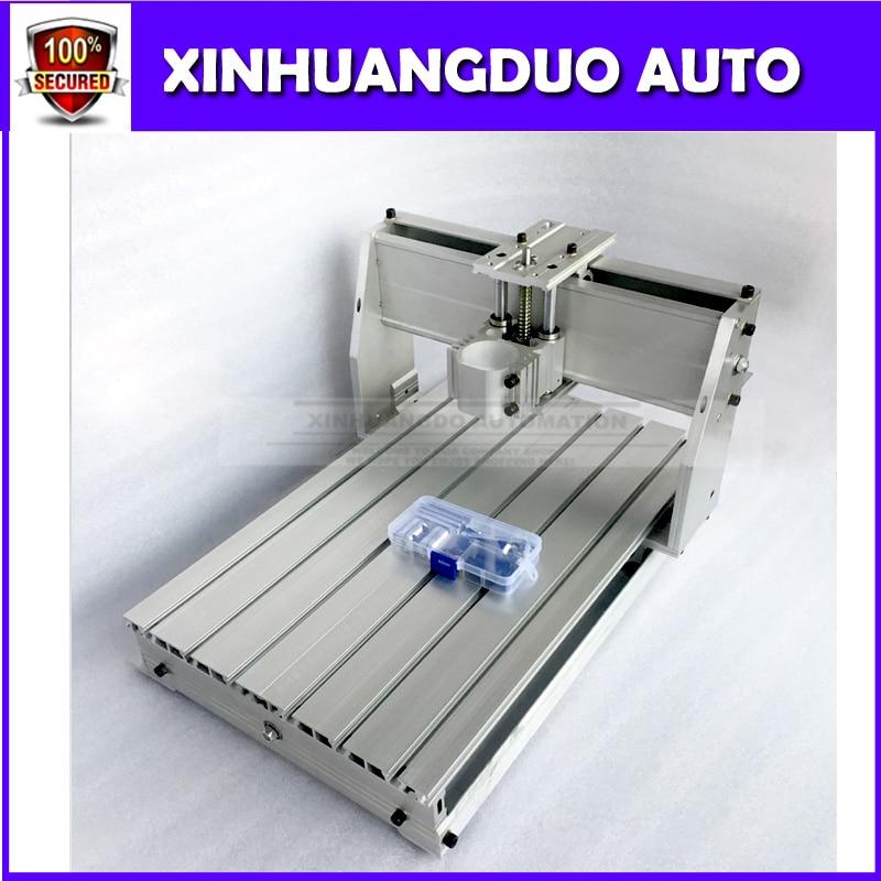 3040 CNC routeur fraiseuse kit mécanique pour bricolage utilisateur + 300 w axe moteur + contrôle de vitesse