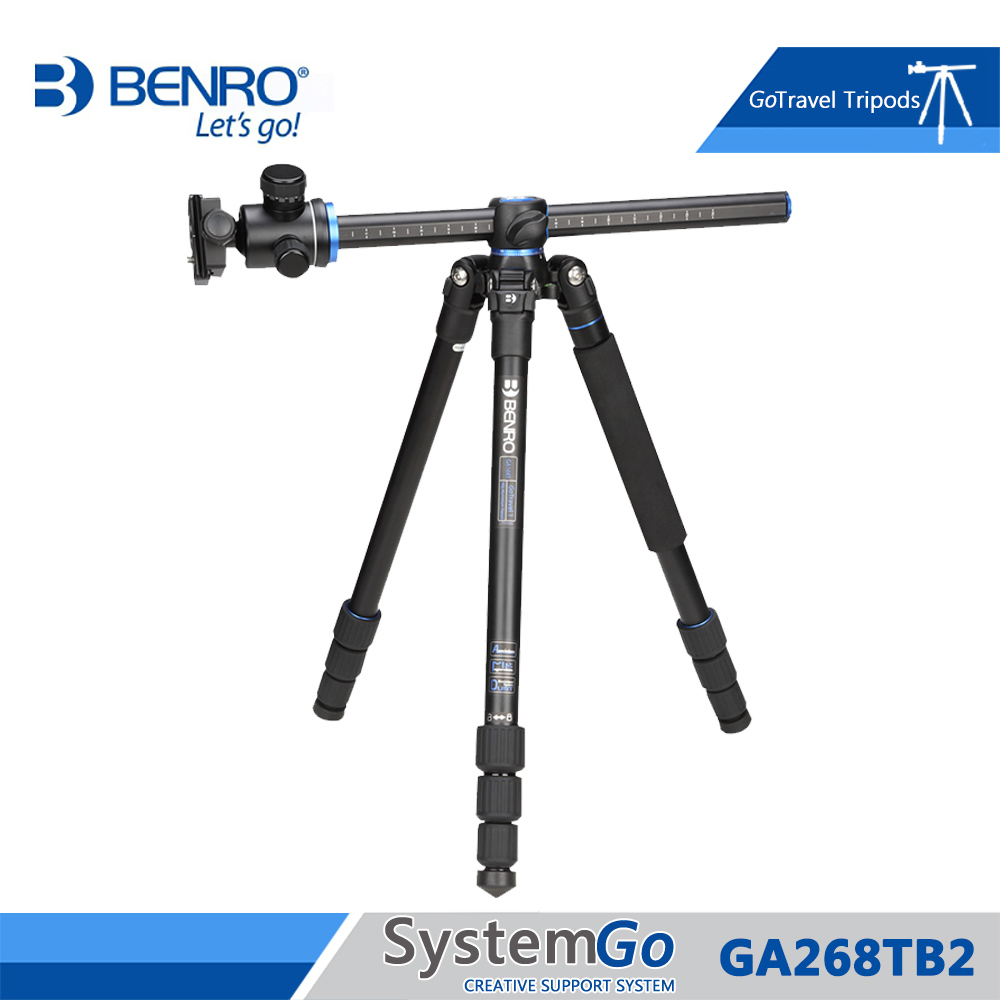 Benro GA268TB2 Tripod Aluminum Camera Tripods Monopod For Camera With B2 Ballhead Max Loading 16kg DHL
