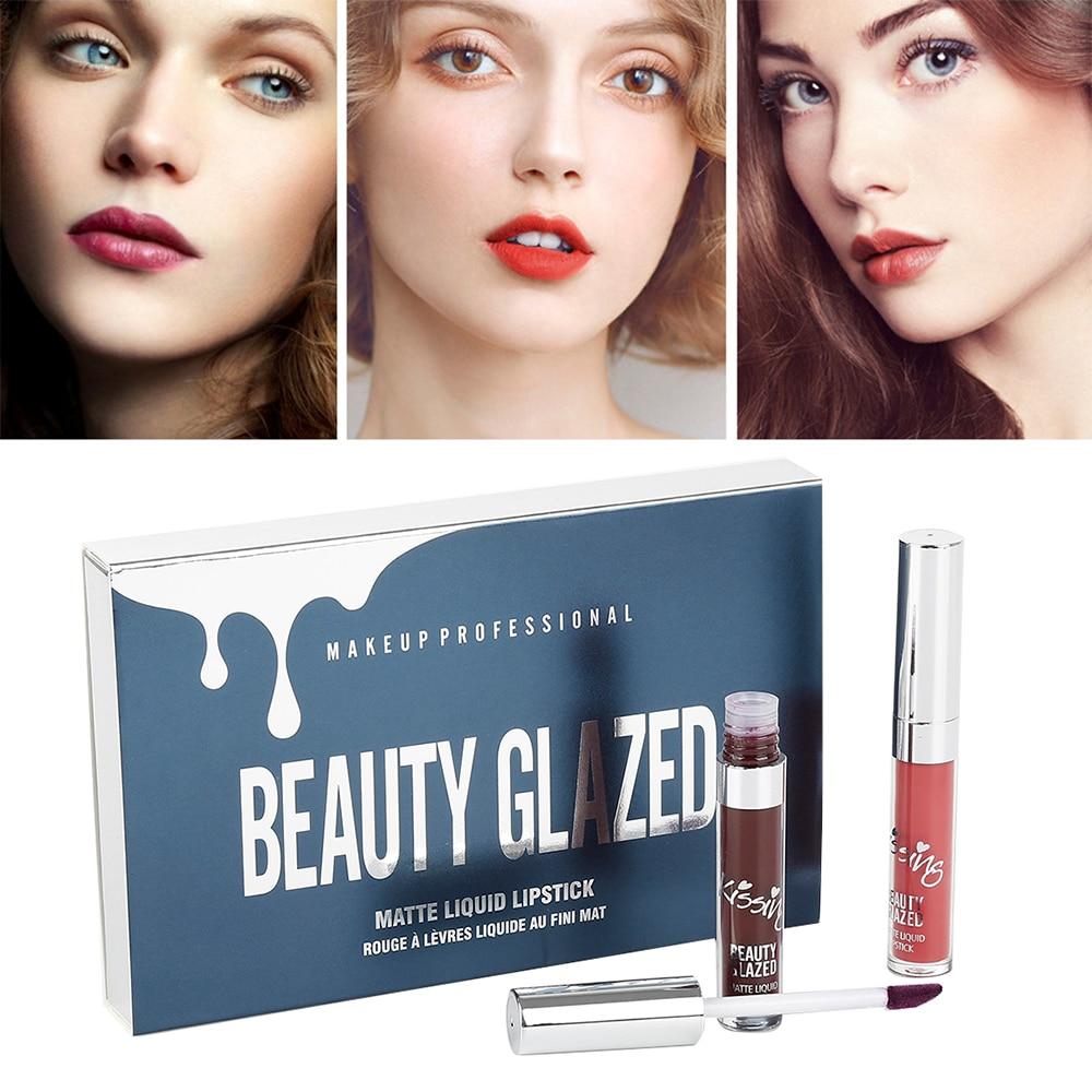 Lipstick Back To Search Resultsbeauty & Health Creative Beauty Glazed 6pcs/set Liquid Lipstick Lip Gloss Professional Makeup Matte Lipstick Lip Kit Long Lasting Cosmetics Maquiagem Crease-Resistance