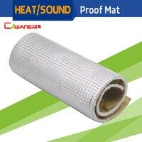 12 X 40 Firewall Sound Deadener Car Heat Shield Insulation Mat Material Aluminum Foil Deadening Control