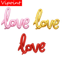 VIPOINT PARTY 38x54cm red pink lip love foil balloons wedding event christmas halloween festival birthday party HY-20