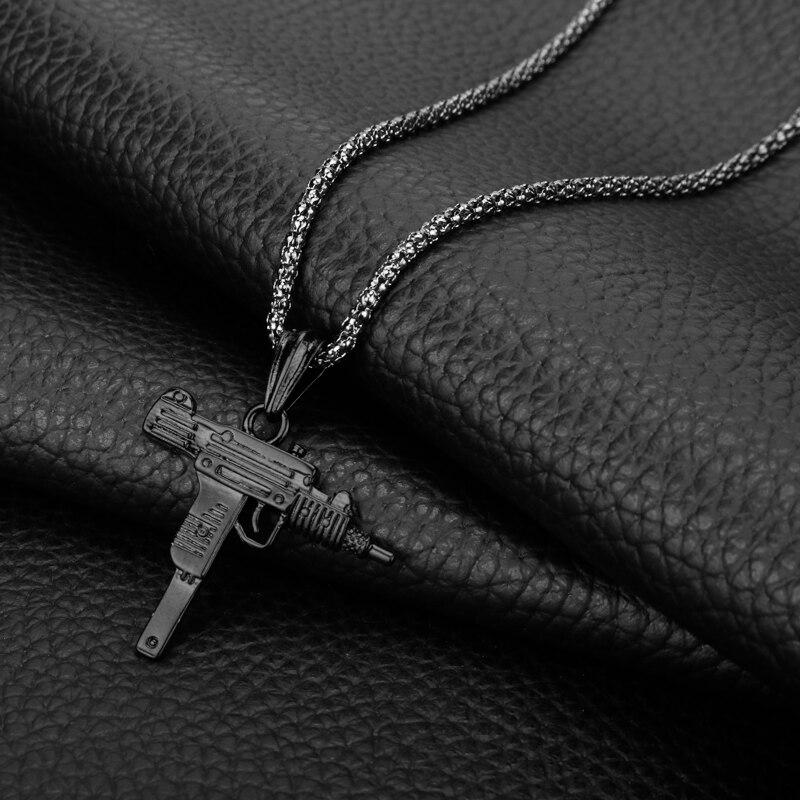 Vintage Gun Choker Pendant & Necklace 6