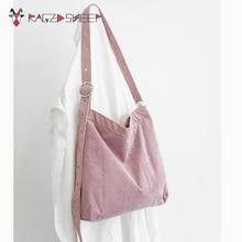 Новинка, женские сумки для покупок, холщовые однотонные сумки через плечо для девушек, повседневные пляжные сумки для девушек, студенческие школьные сумки C17
