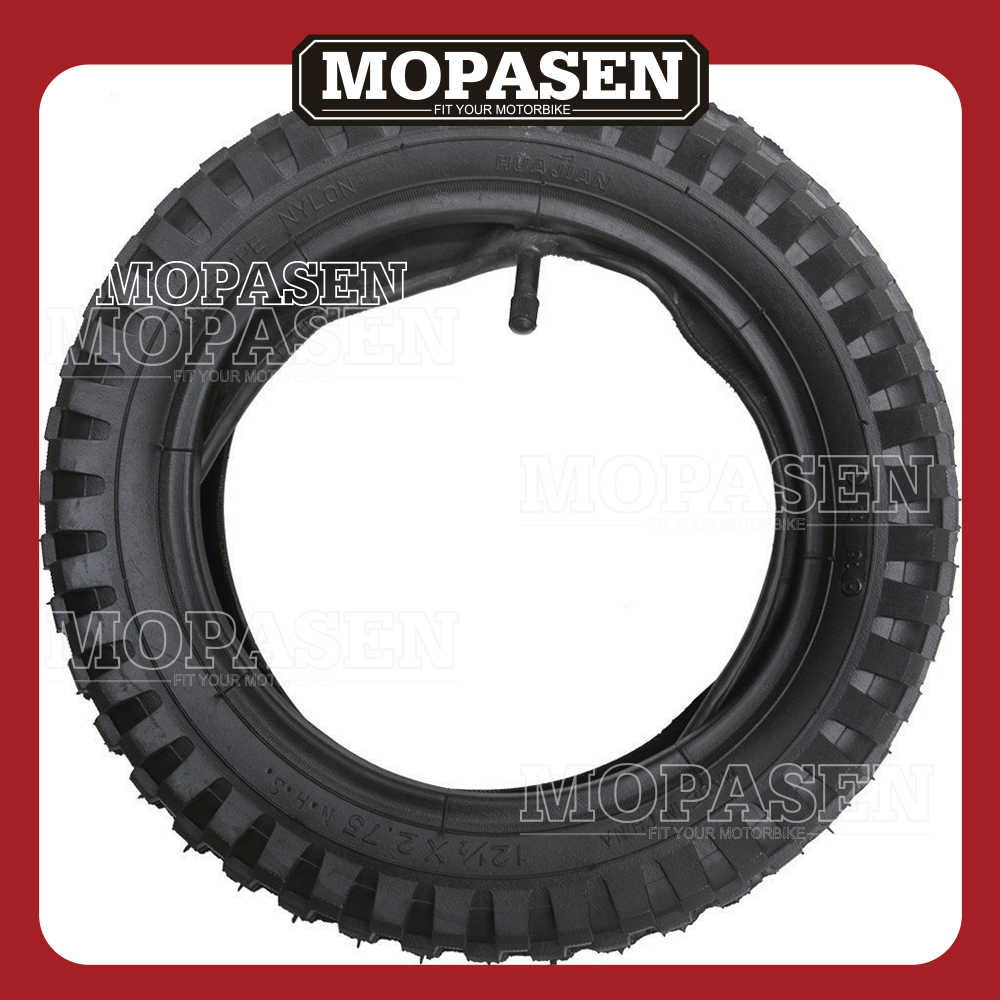 12 1/2 x 2 75 (12 5x2 75) Tire and Inner Tube for Mini