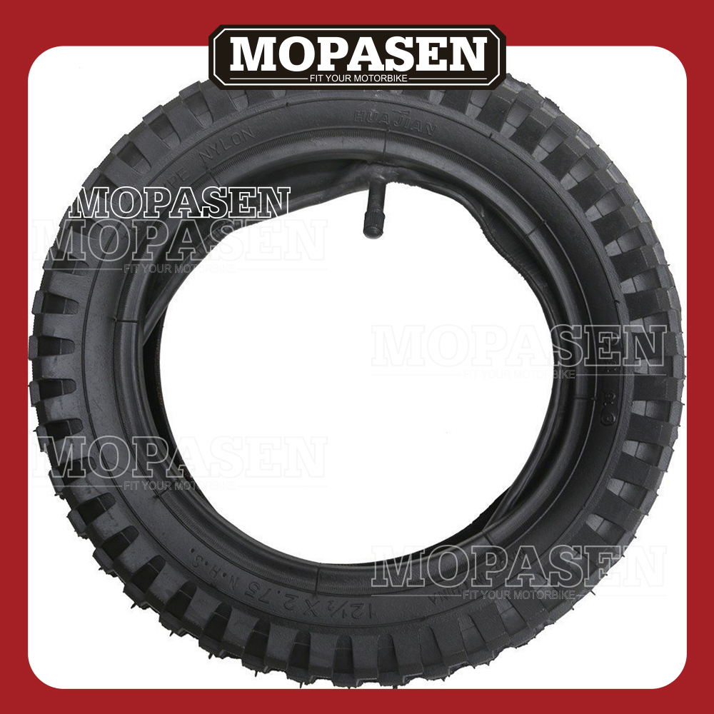 12 1/2 x 2.75 (12.5x2.75) Tire and Inner Tube for Mini Pocket Bikes ...