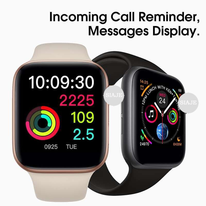 Bluetooth GPS Smart Watch Sports Smartwatch for Apple iOS iPhone 4 5s 6 6s 7 8 X Plus Xiaomi 2 Sony 3 Android Phones (Red Button