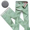 New 9 colors summer fashion business trouser style pants men slim fit straight casual long pants multicolor men Loewe pants