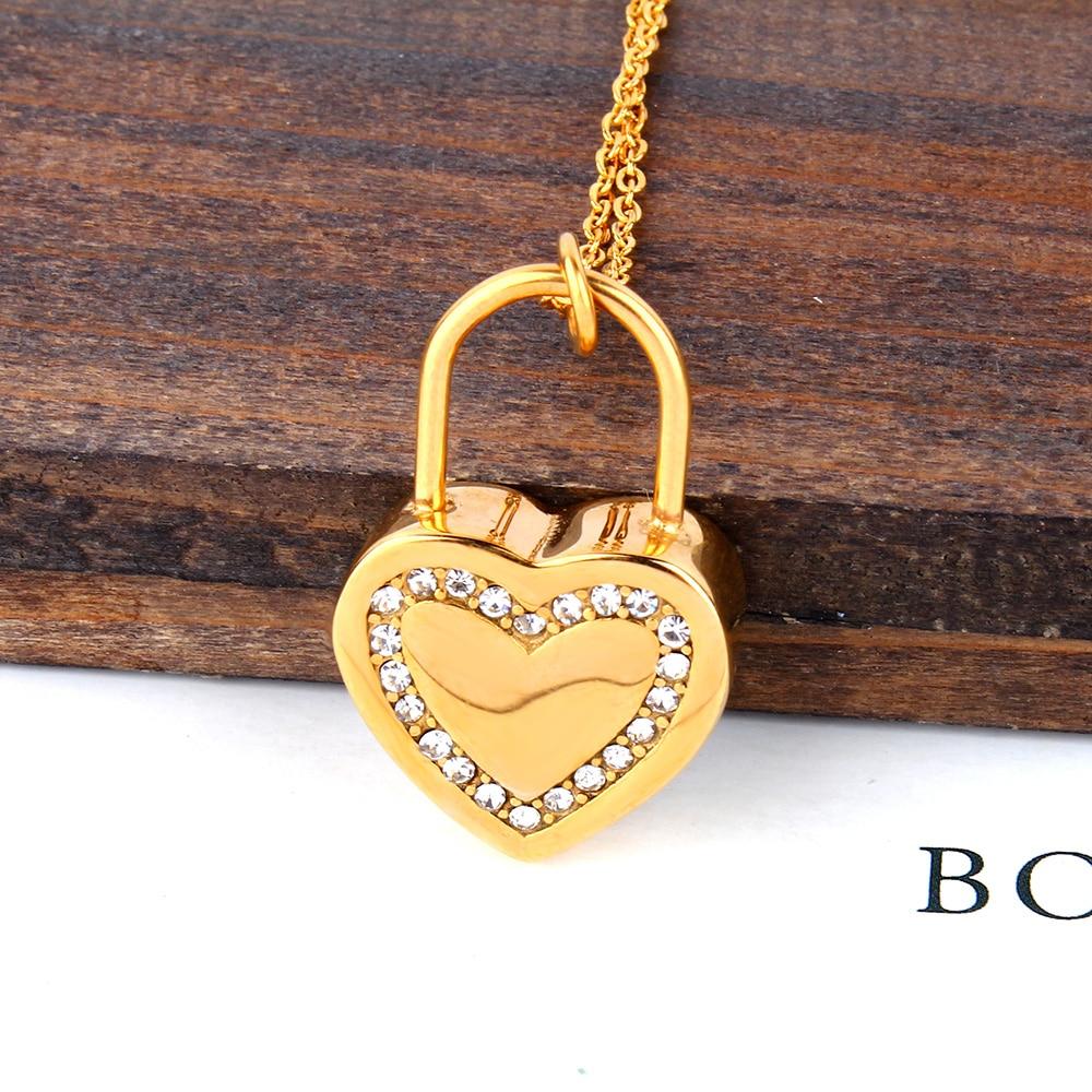 XUANHUA Día de San Valentín Regalo Corazón Collares y Colgantes - Bisutería - foto 3