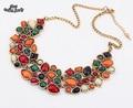 Новые Популярные 8 Цветов Многоцветный Большой Кулон Ключицы Цепи Ожерелье женщин Нежный Банкетный Ювелирные Изделия