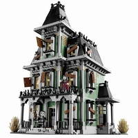 16007 City Street Monster Fighter The Haunted Soul House Model Building Block Kits Brick Toys 2141Pcs Compatible With Legoings