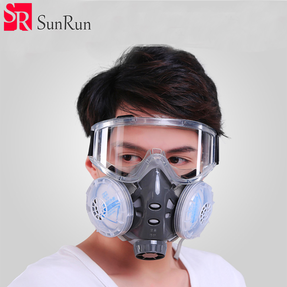 Lovely 3m 6800 Gas Mask Painting Spray Organic Vapors Safety Respirator Full Facepiece Protection Welding Respirator Dust Mask Resident Back To Search Resultshome
