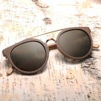 Gafas de son unisex madera modelo clásico filtro UV400 4