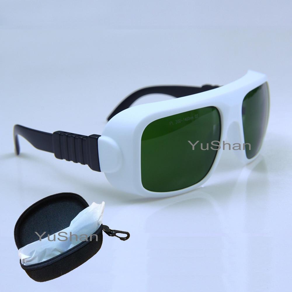 IPL Gafas de seguridad láser 200-1400nm Gafas de protección láser Gafas