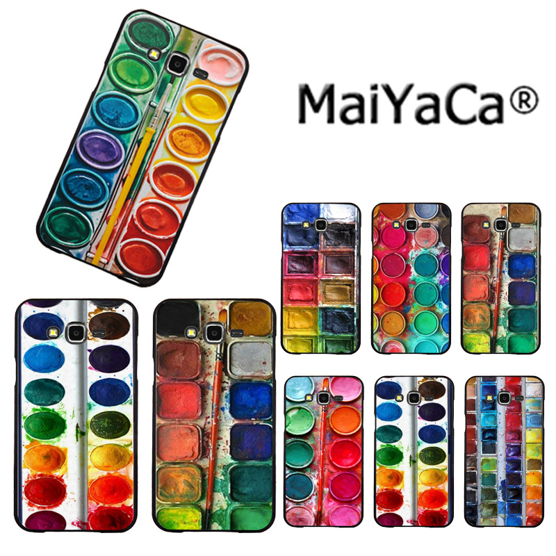 MaiYaCa drawing color palette Luxury phone Accessories