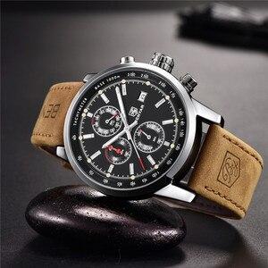Image 5 - 2019 BENYAR Uhr Männer Top Marke Luxus Quarz Business herren Uhren Mode Militär Chronograph Sport Uhr Relogio Masculino