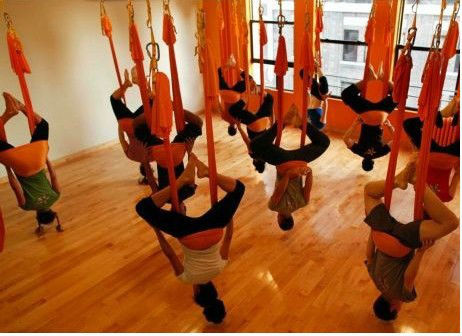Anti Gravity Yoga Hammock Source. Chandeliers And Silk Cos My First  Experience With Anti - Hammock Yoga – BUUA