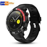 Smart watch 4G network phone call Android 7.1 support Nano SIM WIFI GPS locator Bluetooth smartwatch 500W camera IP68 waterproof