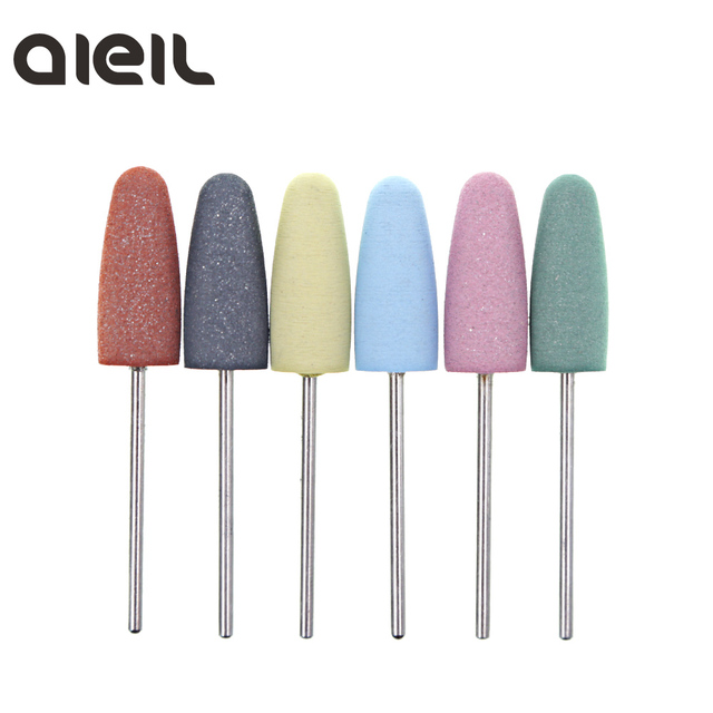 Silicone Nail Drill Bit Cutter for Manicure Machine for Manicure Nail Drill Milling Cutter for Nail Tool Cutter for Pedicure Bit 4