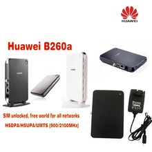 Free shipping Unlocked Huawei B260a VoIP LAN/WLAN 3G UMTS HSDPA WiFi Router replace E960 B970 fast free shipping unlocked linksys spa3000 spa 3000 voip fxs voip phone adapter voice ip phone adapter