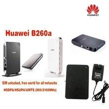 Free shipping Unlocked Huawei B260a VoIP LAN/WLAN 3G UMTS HSDPA WiFi Router replace E960 B970