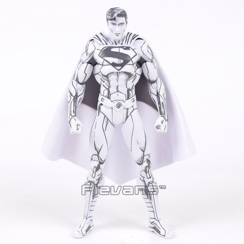 DC COMICS Superman / Batman Blueline Edition PVC Action Figure Collectible Model Toy Brinquedos greg pak superman action comics volume 5 what lies beneath